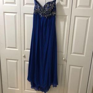 Jump Apparel, Royal Blue Prom Dress